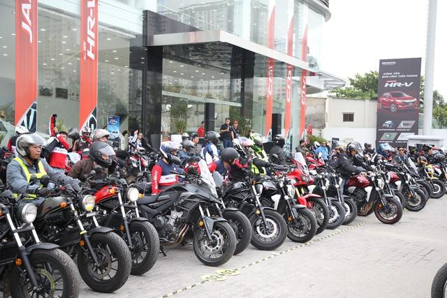 Honda Việt Nam tổ chức Ngày hội trải nghiệm xe mô tô - Biker Day cho gần 200 khách hàng trên toàn quốc - Ảnh 4.