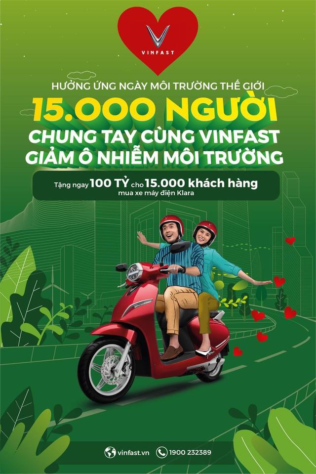 100 tỷ đồng tặng khách hàng mua Klara -  lời tuyên chiến của VinFast với ô nhiễm không khí - Ảnh 3.