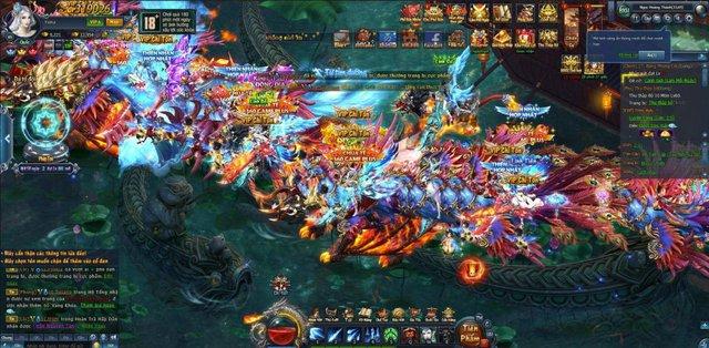 Rất đông game thủ chinh phục Tam Giới