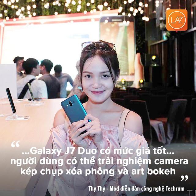 Galaxy J7 Duo được đánh giá sở hữu các tính năng nổi bật so với các sản phẩm cùng mức giá