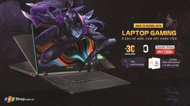 FPT Shop lên kệ độc quyền laptop gaming Asus F560 - ảnh 3