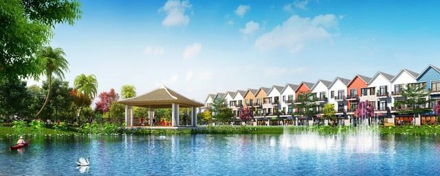 """""""Thành phố Venice"""" đa sắc ở TP.HCM sẽ đem lại 1 không gian sống rực rỡ và tràn đầy cảm hứng."""