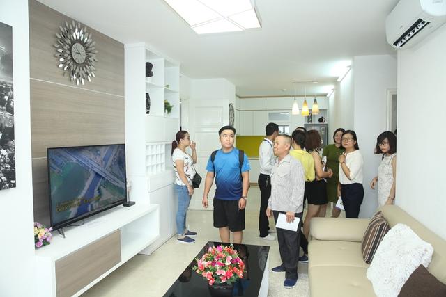 Các căn hộ chung cư ở Tứ Hiệp Plaza được chủ đầu tư bàn giao đúng như cam đoan.
