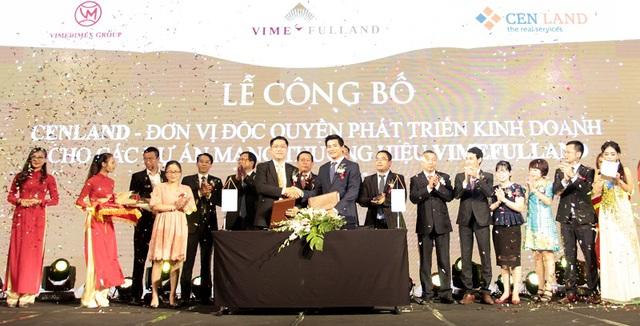 CENLAND giữ vai trò độc quyền phát triển kinh doanh 1 vài dự án có thương hiệu Vimefulland trong việc hợp tác chiến lược có Tập đoàn VIMEDIMEX.
