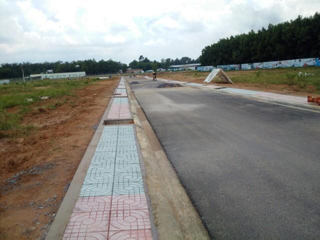 KDC đất ở ở xã An Phước do Công ty Vạn An Phát triển khai.
