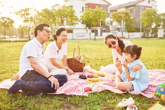Tận hưởng cuộc sống thư thái tại khu đô thị xanh đẳng cấp.