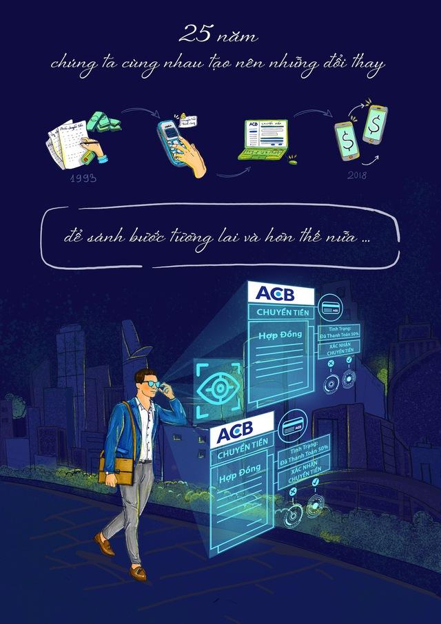 Bộ tranh vẽ độc đáo về tương lai ngành ngân hàng - Ảnh 4.