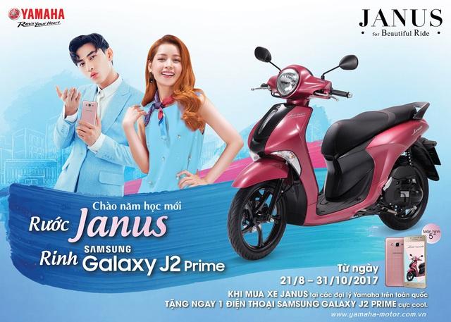 Sắm xe máy Janus, rinh ngay smartphone Samsung màn hình cực lớn 5 inches - Ảnh 2.
