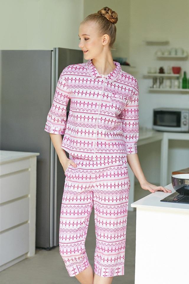 VINCY gợi ý xu hướng thời trang mặc nhà mùa Thu - Đông - Ảnh 2.
