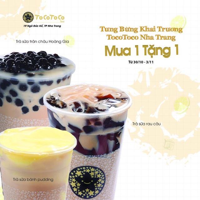 Tưng bừng khai trương - Siêu khuyến mãi cho fan trà sữa TocoToco Nha Trang - Ảnh 1.