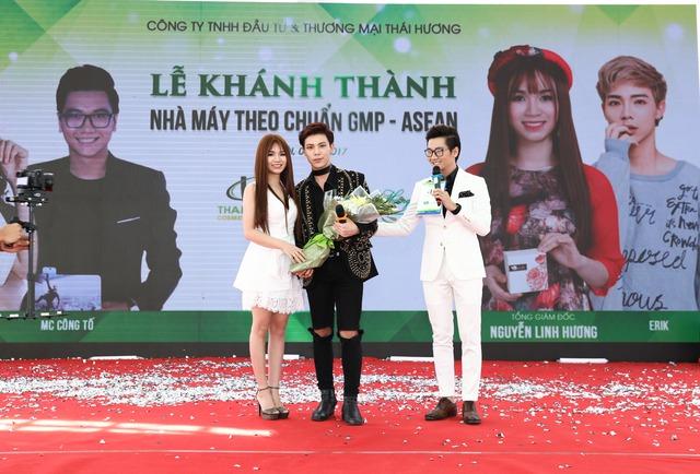 Sao V-Pop hội tụ trong sự kiện của mỹ phẩm thiên nhiên Linh Hương - Ảnh 1.