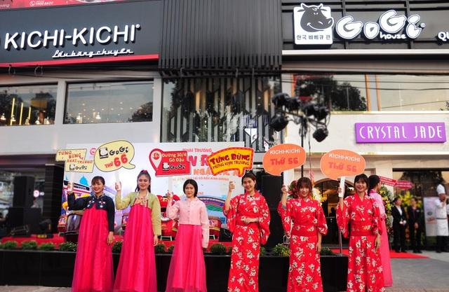 """Kichi Kichi, Gogi House, Crystal Jade Kitchen """"đổ bộ"""" Gò Đậu, Bình Dương - Ảnh 1."""