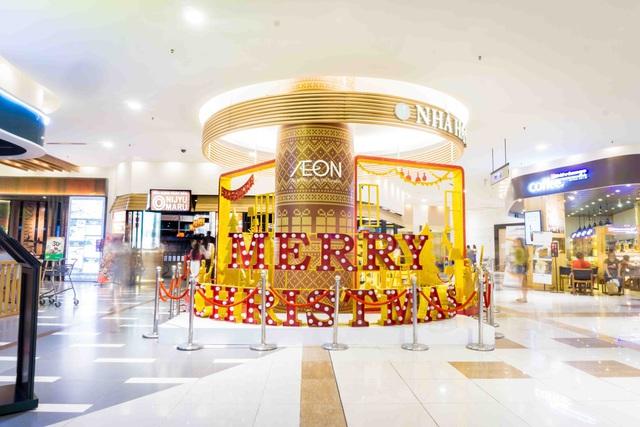 Tận hưởng không khí Giáng sinh sớm tại Aeon Mall Tân Phú Celadon