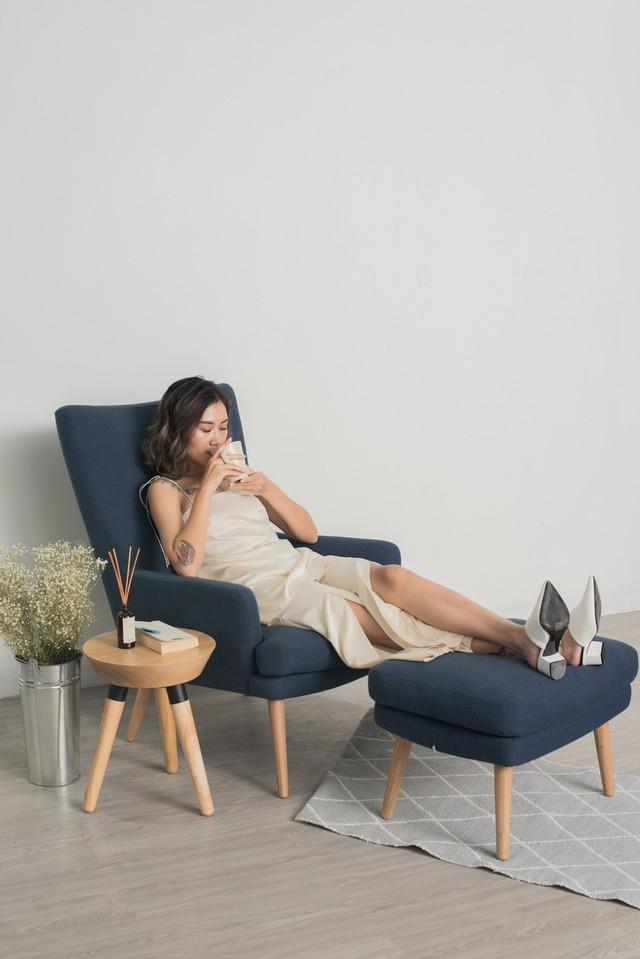 Những mẫu sofa đẹp cho ngày đông thêm ấm áp - Ảnh 1.