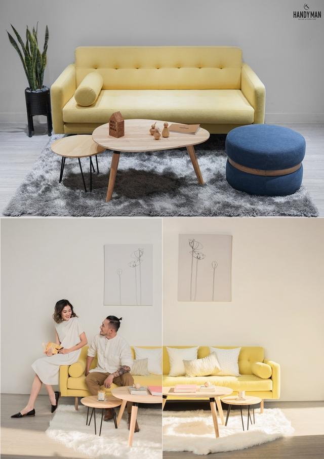 Những mẫu sofa đẹp cho ngày đông thêm ấm áp - Ảnh 2.
