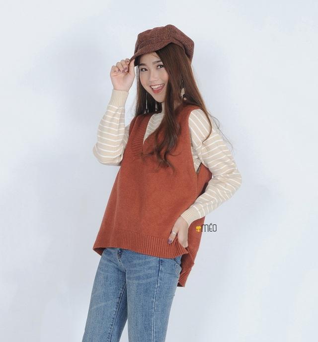 Phối đồ phong cách cho mùa đông từ những item cơ bản: len và nỉ - Ảnh 5.