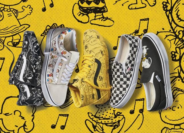 Vans x Peanuts – Cú collab tiếp tục thống trị đế chế sneaker hoạt hình - Ảnh 1.