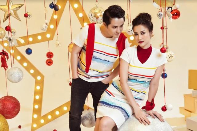 Mặc đồ đôi mùa Giáng sinh đẹp như Đông Nhi – Ông Cao Thắng - Ảnh 1.