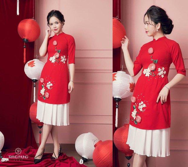 """Đón xu hướng áo dài cách tân cùng """"Cô Trang Hà Nội"""" - Ảnh 1."""