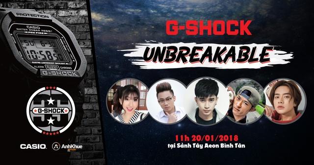 Casio G-Shock tổ chức sân chơi hoành tráng cho giới trẻ - Ảnh 1.