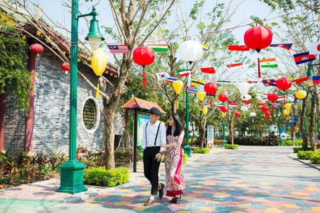 Giới trẻ háo hức chờ đón lễ hội Mai vàng sắc xuân Sun World Danang Wonders - Ảnh 1.