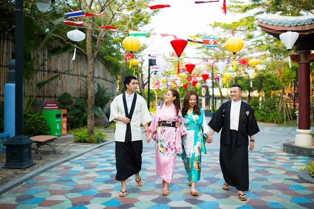 Giới trẻ háo hức chờ đón lễ hội Mai vàng sắc xuân Sun World Danang Wonders - Ảnh 4.