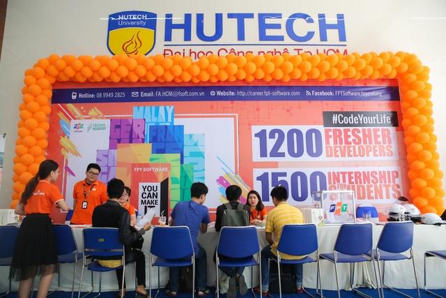 """""""HUTECH IT Open Day"""" - Sàn giao dịch việc làm của sinh viên thời công nghệ 4.0 - Ảnh 2."""