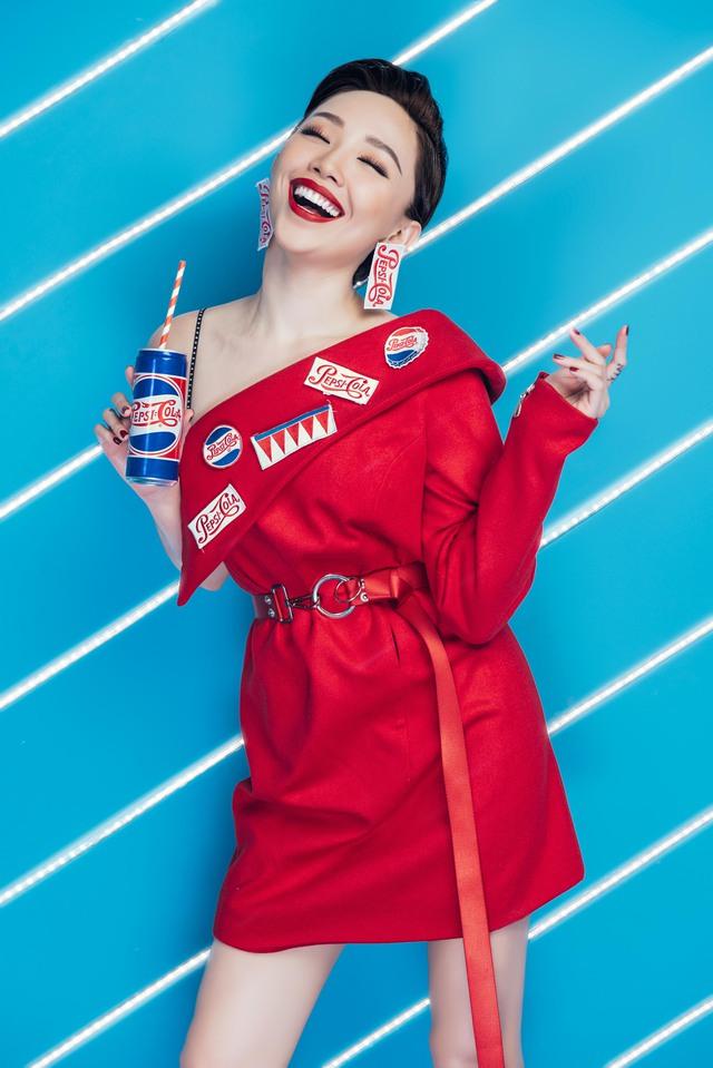 """Sao Việt so độ """"chất"""" trong thiết kế lấy cảm hứng từ lon Pepsi - Ảnh 6."""