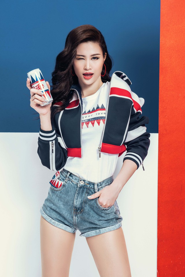 """Sao Việt so độ """"chất"""" trong thiết kế lấy cảm hứng từ lon Pepsi - Ảnh 8."""