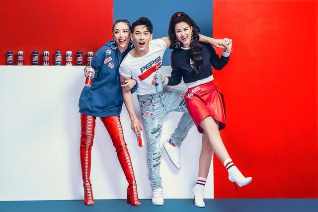 """Sao Việt so độ """"chất"""" trong thiết kế lấy cảm hứng từ lon Pepsi - Ảnh 9."""