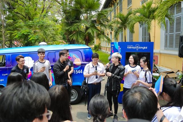 Teen Nguyễn Thị Minh Khai cùng Đức Phúc quyết tâm chiến thắng thử thách cảm hứng khám phá - Ảnh 3.