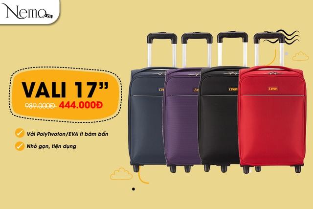 Sắm vali đi du lịch, giá cực sốc chỉ từ 444.000 đồng - Ảnh 3.