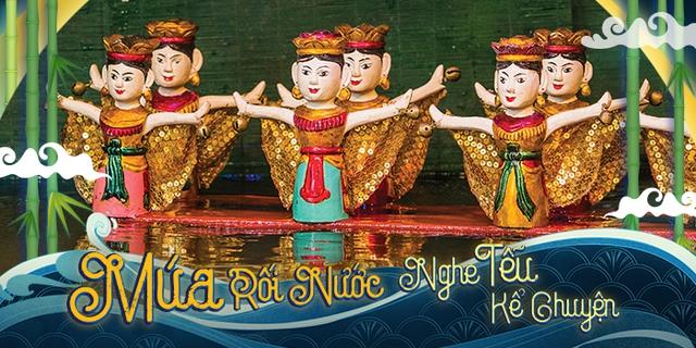 Múa rối nước được dàn dựng và trình diễn công phu tại trung tâm vui chơi thiếu nhi - Ảnh 1.