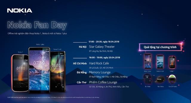 Offline trải nghiệm các smartphone Nokia mới với nhiều ưu đãi - Ảnh 4.