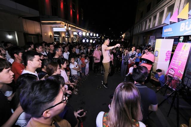 Lộn Xộn Band ra mắt bài hát mới, cùng dàn hot teen náo loạn tại sự kiện thực tế ảo trên phố đi bộ - Ảnh 6.