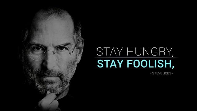 Steve Jobs: Hãy cứ khát khao, hãy luôn dại khờ - Ảnh 1.