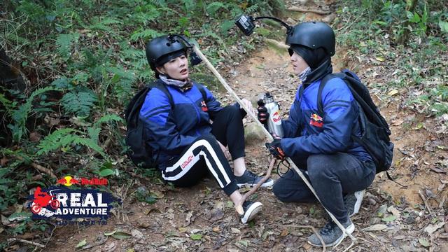 Kim Nhã khóc nấc, Lâm Vinh Hải lần đầu cáu kỉnh với đồng đội trong Red Bull - Hành trình Đích thực - Ảnh 1.