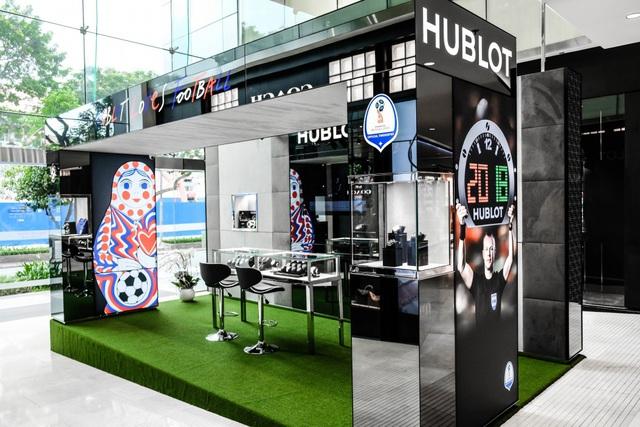 Hublot mở Pop-up chào đón FIFA World Cup tại Sài Gòn - Ảnh 1.