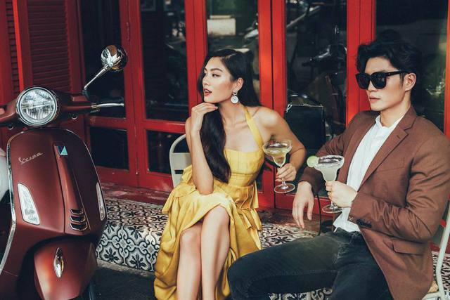 """Cặp đôi hot hit Huy Trần – Thảo Nhi Lê lại khiến cư dân mạng """"phát sốt"""" với phong cách sang chảnh - Ảnh 1."""